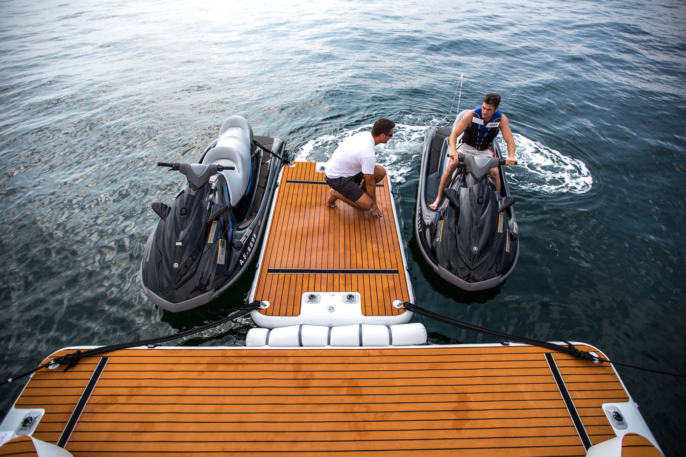 Inflatable Jet-ski pontoon