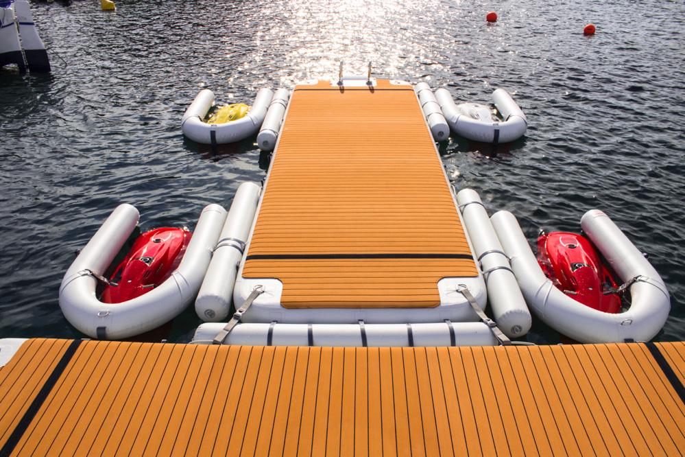 Custom seabob dock - Nautibuoy Marine